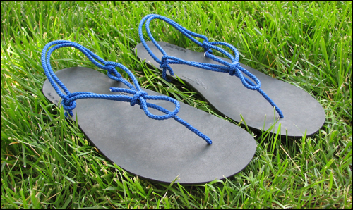 Xero Shoes atadas