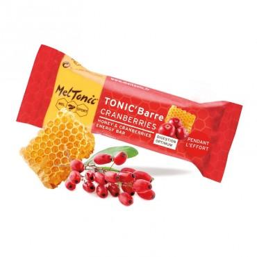 MelTonic Barre énergétique miel-cranberries-gojis