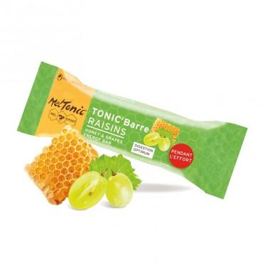 MelTonic Barre énergétique miel-raisins-amandes