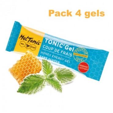 Pack Gel énergétique coup de frais miel-gelée royale-menthe
