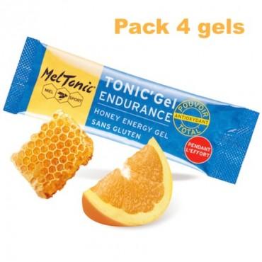 Pack Gel énergétique endurance miel-ginseng-gelée royale