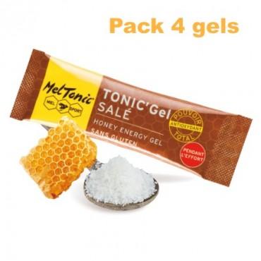 Pack Gel énergétique salé miel-fleur de sel-gelée royale