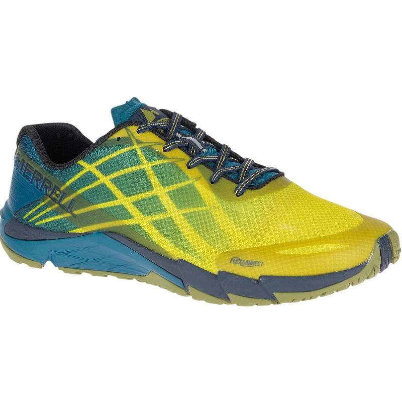 Merrell Bare Access Flex - Chaussures running Homme - vert/bleu 47 2018 Chaussures trail Chaussures Merrell Bare blanches femme Chaussures Merrell Bare blanches femme efqtYIFa