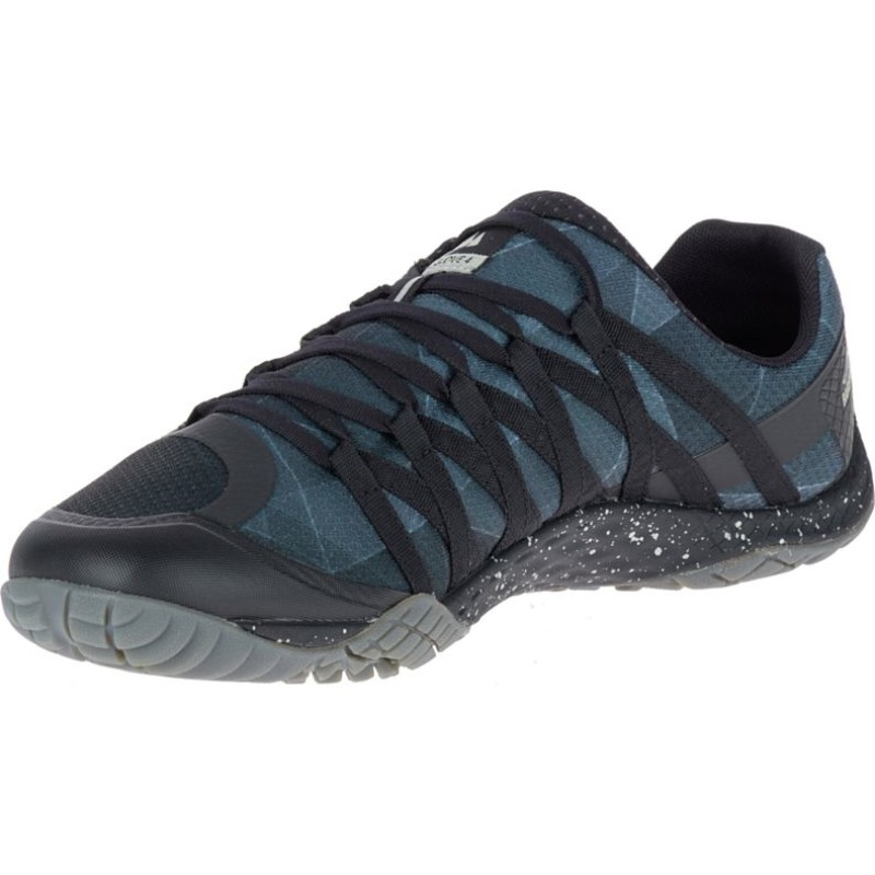 chaussure minimaliste merrell trail glove 4 homme couleur noir. Black Bedroom Furniture Sets. Home Design Ideas