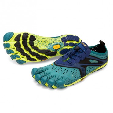 Vibram Five Fingers V-Run Femme Bleu