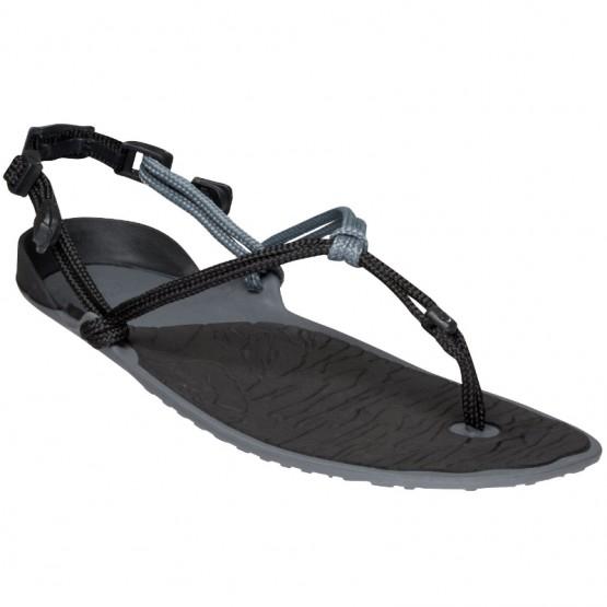 Sandale minimaliste Amuri Cloud Femme noir/gris