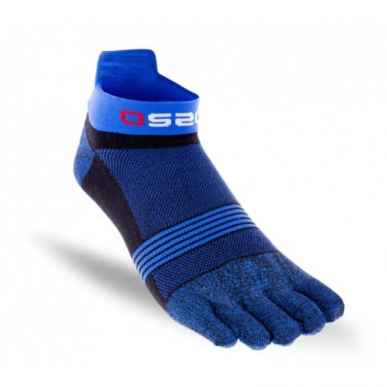 Chaussettes à doigts OS2O Run. Bleu