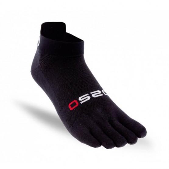 Chaussettes à doigts OS2O Run Lighweight Noir
