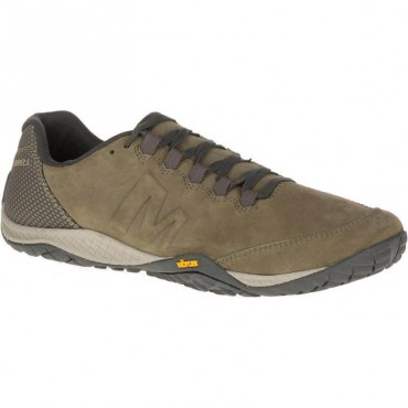 Chaussure minimaliste Parkway Emboss Lace Homme Olive