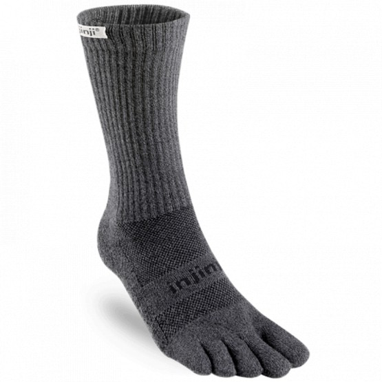 Chaussettes à doigts Trail Crew Midweight Granite