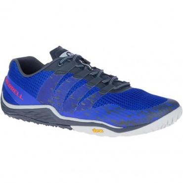 Chaussure minimaliste Merrell Trail Glove 5 Homme Bleu