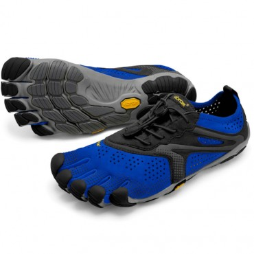 Vibram Five Fingers V-Run Homme Bleu/Noir