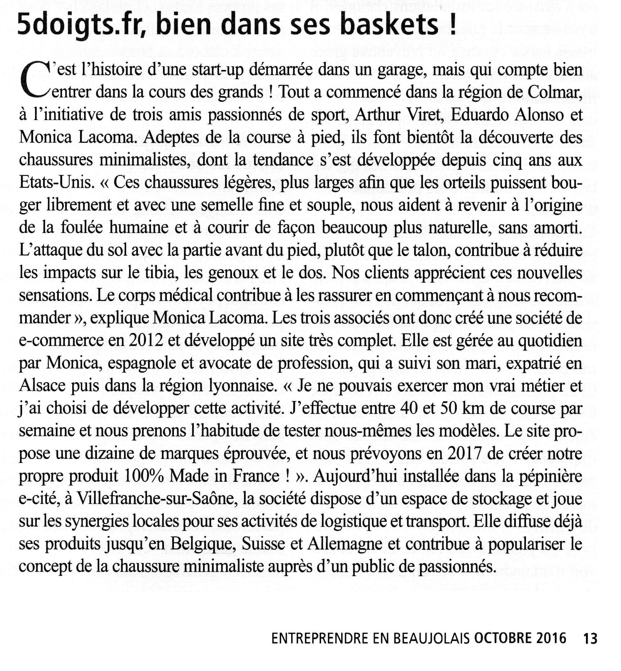 L'entreprise 5doigts.fr