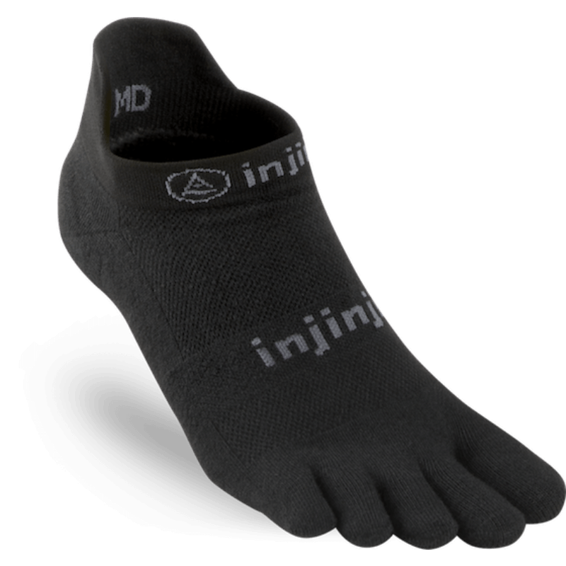 Chaussettes Injinji no show light weight noir