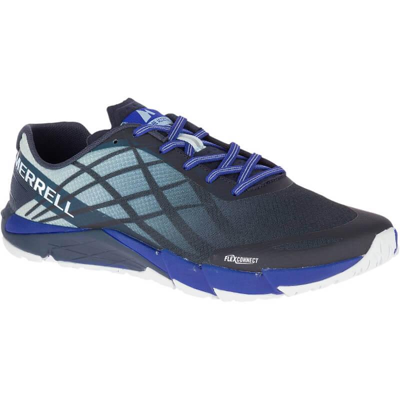 Chaussures minimalistes Merrell Bare Access Flex Homme Blue Sport