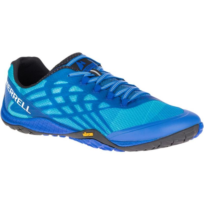 Chaussure minimaliste Merrell Trail Glove 4 Homme Bleu nautique