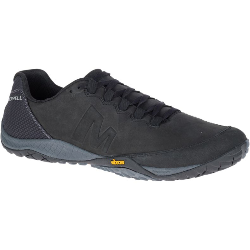 Chaussures minimalistes Merrell Parkway Emboss Lace Homme Noir