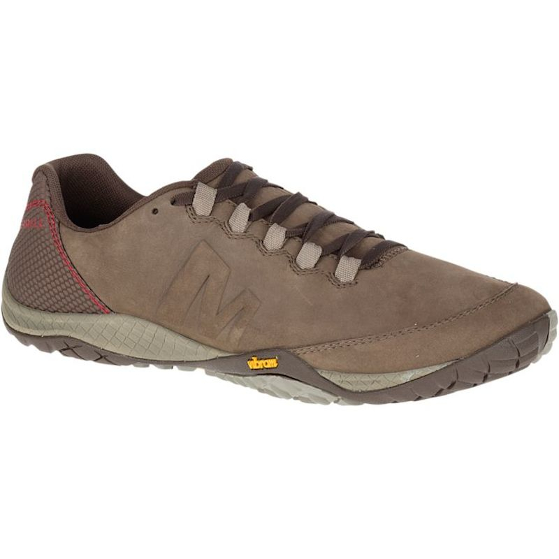 Chaussures Minimalistes Merrell Parkway Emboss Lace Homme Marron