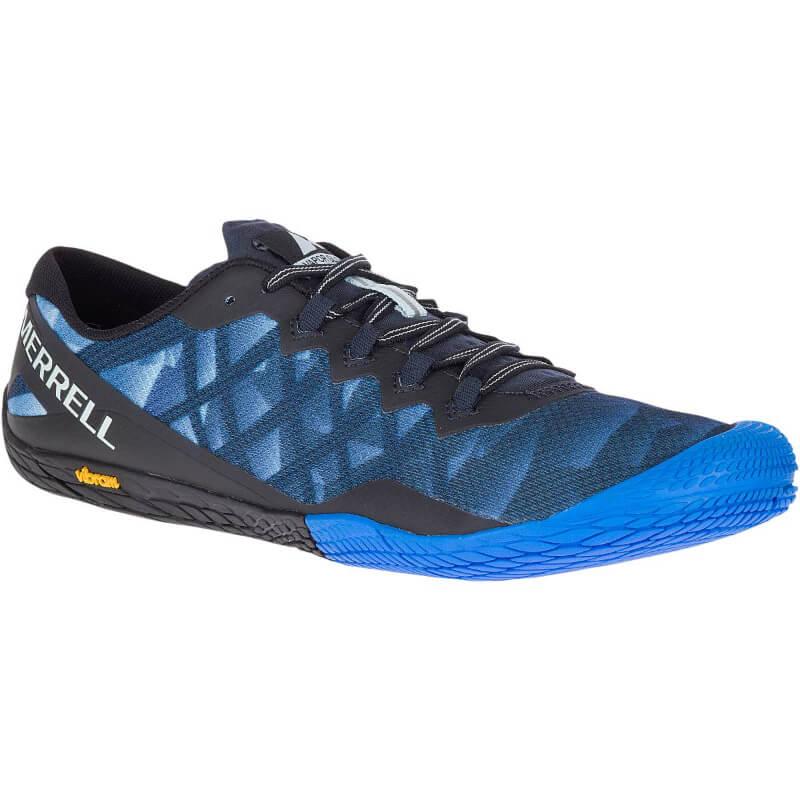 Chaussure minimaliste Merrell Vapor Glove 3 Homme Blue Sport