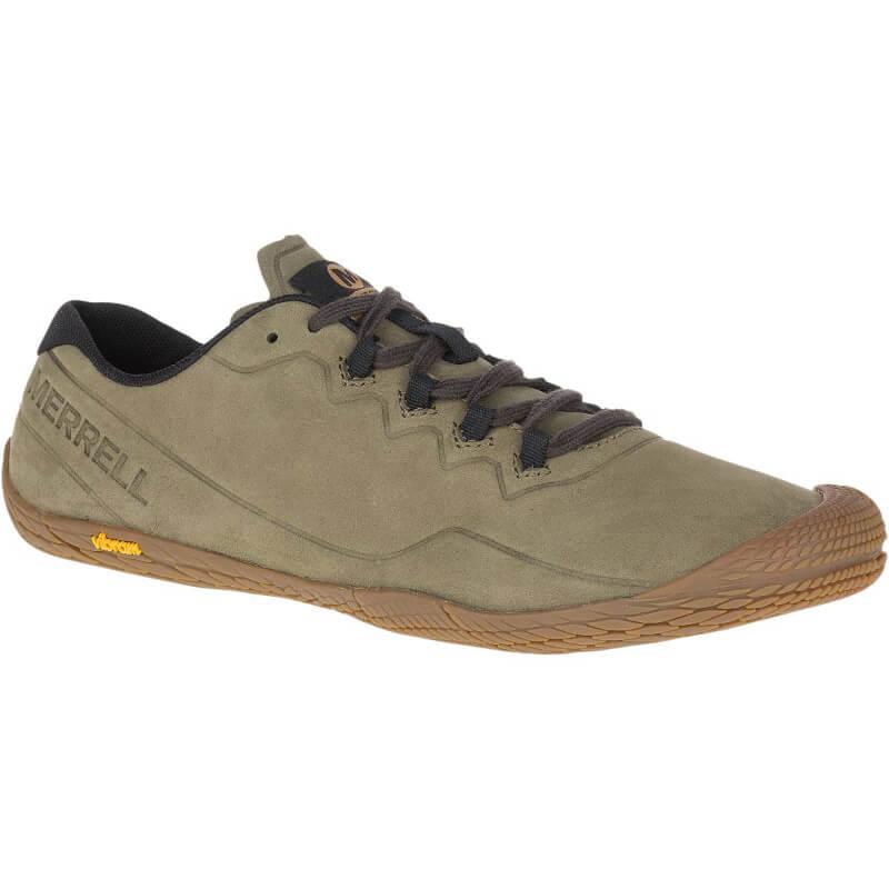 Chaussures minimalistes Merrell Vapor Glove Luna 3 LTR Homme Olive