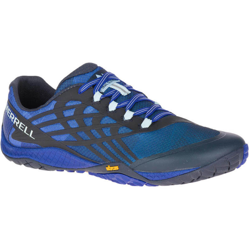 Chaussures minimalistes Merrell Trail Glove 4 Homme Blue Sport