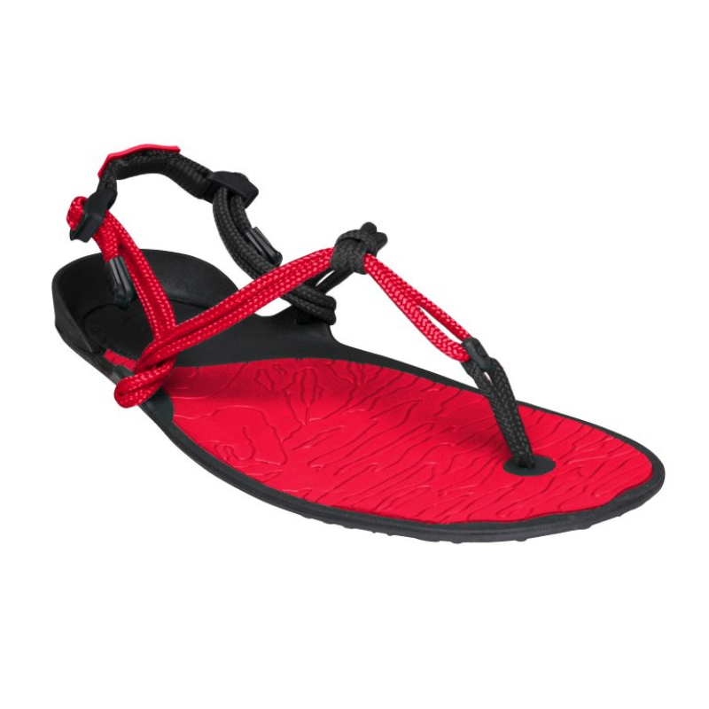 Sandale minimaliste Xero Shoes Amuri Cloud Femme Rouge
