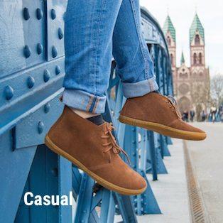 Chaussures minimalistes Ville Femme